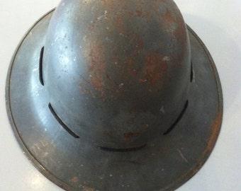 1941 British Army Firewatcher's Helmet