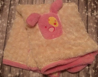 Super soft minky puppy blanket