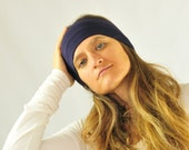 Ear Warmer  - Headband - Universal Size  - Purple - Organic Clothing - Eco Friendly - Several Colors Available