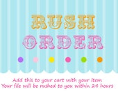 RUSH ORDER Add-On  (For Invitations) 24 hours