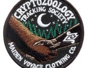 Cryptozoology Tracking Society: Friends of Cryptid Wildlife Patch (Glow in the Dark)