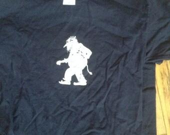 Norwegian Troll Shirt Youth Navy blue