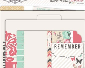 Teresa Collins Daily Stories File Folders & tags