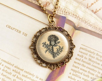 Scottish Thistle - Fancy Necklace