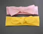 Solid Tie Turban