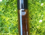 Natural Patchouli Oil Roll On Fragrance 1/3 Ounce and one oil sample of your choice