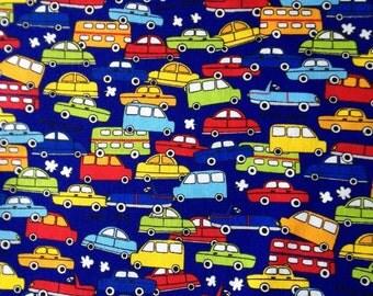 Japanese fabric Car printed Half yard