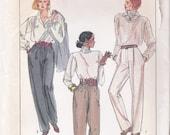 Simplicity 8747 Womens Pattern Pants Pattern Seamless Gusset Crotch Pants Pattern Size 16 Uncut Patterns Sewing Pattern Supplies YacketUSA
