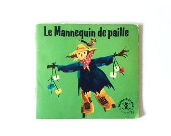French Vintage Children Book, Forest, Rabbit, Deer