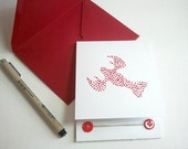 Hand Painted Lobster - Valentine Card  - You Are My Lobster - Friends - Blank Card -Lobster Love - Funny Valentine - Sweetheart - Friends -