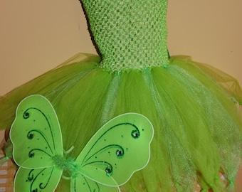 Tinkerbell Inspired Tutu dress