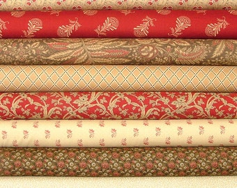 Collections Circa Half Yard Bundle of 8 by Howard Marcus for Moda