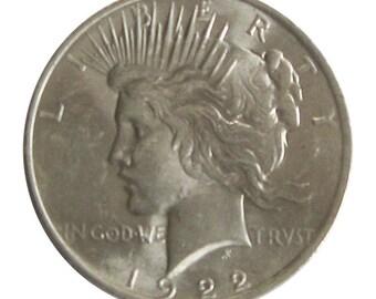 1922 U.S. Silver Peace Dollar