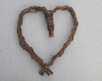 Twig heart wreath - Large