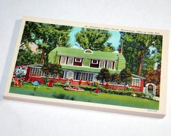 SALE 20 Vintage Mittiwanga Ohio Postcards Blank - Wedding Guestbook