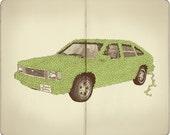 Green Machine Print...
