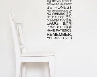 Be You Tiful Vinyl Wall Decal Quote Wall Art Multiple Sizes
