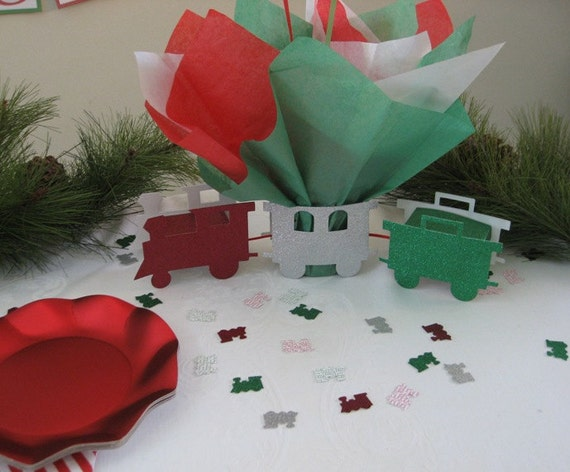 Christmas Baby Shower Theme Choo Choo Train Balloon