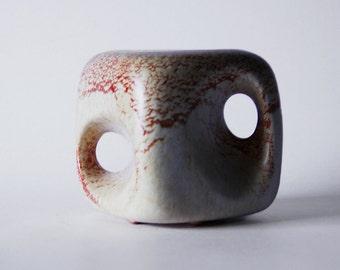 Italian Modernist 'Cube' Vase - Bertoncello