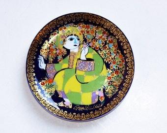 Vintage Wall Plate Aladdin  (4) - Bjørn Wiinblad for Rosenthal