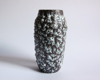 Vintage German Fat Lava Vase - Heinz Martin for Jopeko 60s