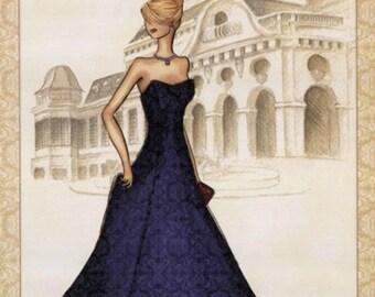 Vienna Ballet - Cross stitch pattern pdf format