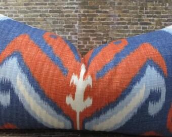 Designer Pillow Cover  - Lumbars, 18 x 18, 20 x 20 - JR Sulu American Beauty