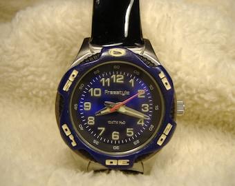 Vintage 1980s Freestyle Diver Quartz Watch