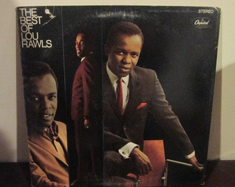 The Best of Lou Rawls Collectible Vinyl Record VG to EX Condition