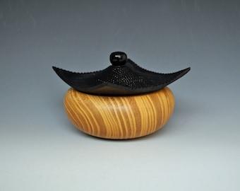 Asian Style Box in Osage orange