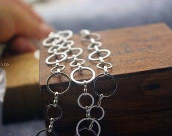 Promotion season-3.3 feet fantastic  loop chain -brass chain-F1149-circle linked chain