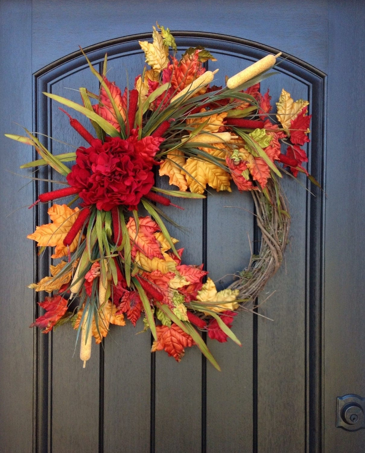 Fall Sale Fall Wreath Autumn Wreath Berry Twig Holiday
