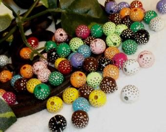 75 Sparkle Crystal Beads