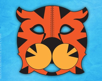 Print Your Own Tiger Mask Digital File