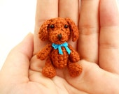 Vizsla - Crochet Miniature Dog Stuffed Animals - Made To Order