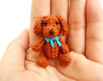 Vizsla - Crochet Miniature Dog Stuffed Animals - Made To Order