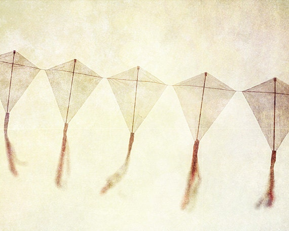 Nursery decor kite picture dreamy photography by for Decoration kite