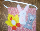 Oh so Cute Animals Felt Finger Puppets for Imaginative Play and Learning
