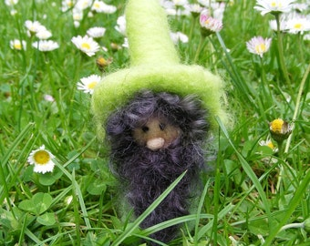 Lawn Gnome - Needle Felted