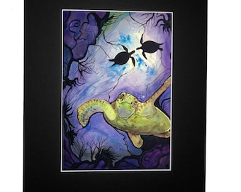 Sea Turtle, Signed Open Edition