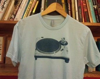 Technics Turntable Screen Printed T-Shirt