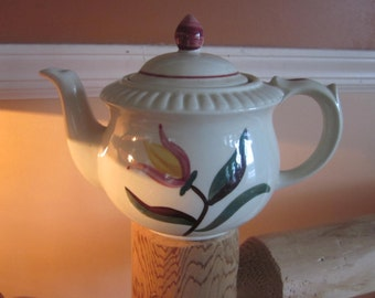 USA teapot. tulip pattern,,,teapots