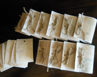 Necklace Display Cards Hangers and Earring Cards Set 10