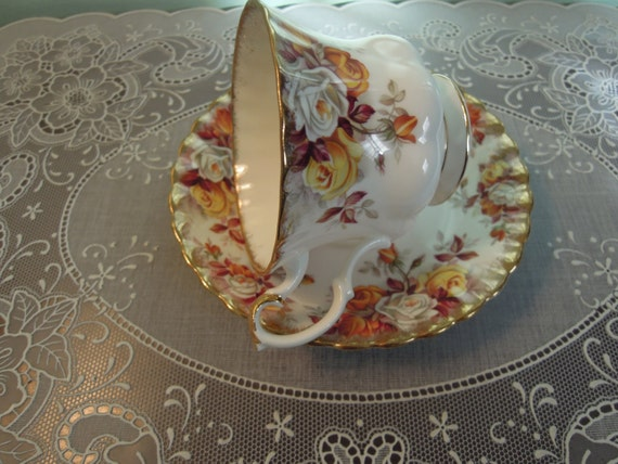 Royal Albert Lenora Teacup Amp Saucer Teacup Royal Albert