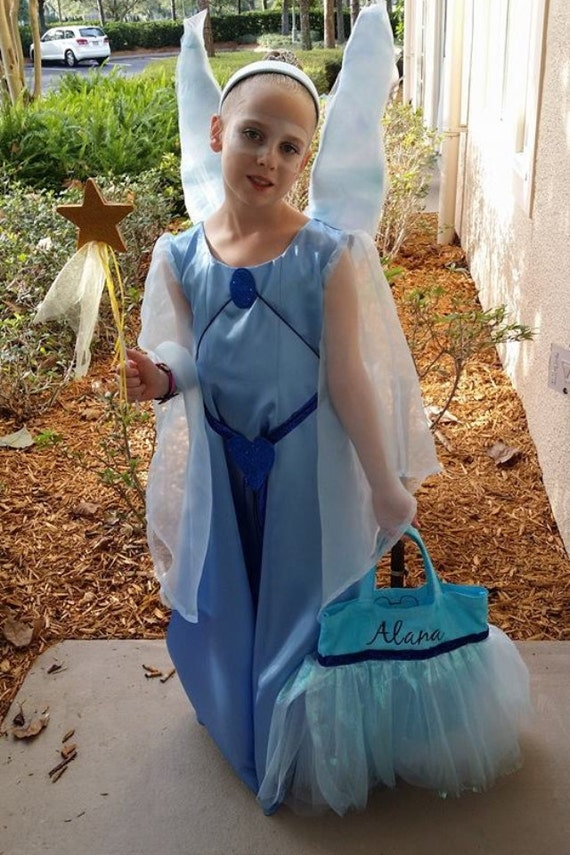 Items similar to Pinocchio Blue Fairy Costume on Etsy