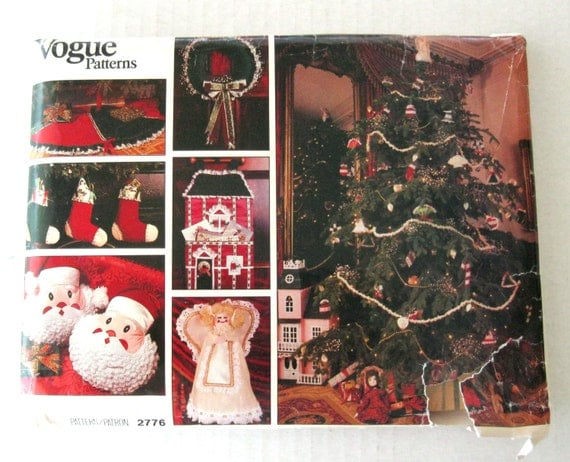 Kd vintage christmas decorations