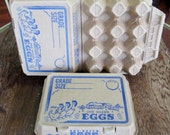 1950's Egg Cartons New old Stock Never Used 2 Available