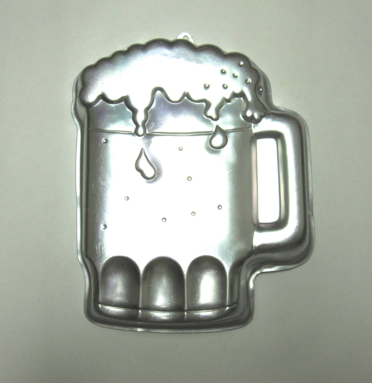 wilton beer mug cake pan