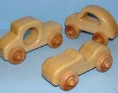 WOODEN WONDER 3 -  Wooden Toy Cars