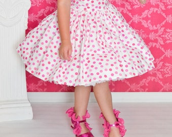 pretty in pink eye candy party dress